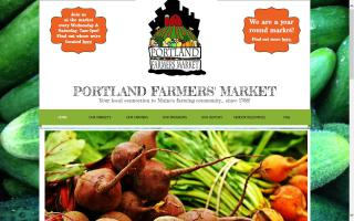 Portland Farmers' Market- Deering Oaks Park