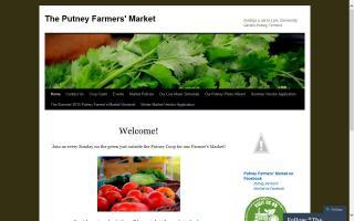 Putney Farmers' Market - Indoor/Winter