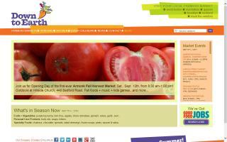 Queens Botanical Garden's Down to Earth Farmers Market