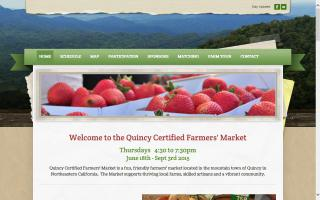 Quincy Certified Farmers' Market