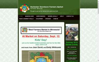 Rochester Downtown Farmers Market