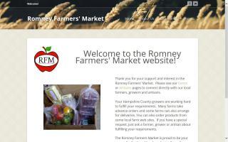 Romney Farmers Market