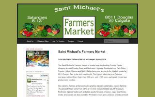 Saint Michael's Farmers Market