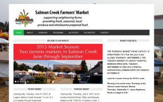 Salmon Creek Farmers' Market at Legacy Hospital