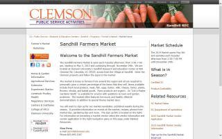 Sandhill Farmers Market