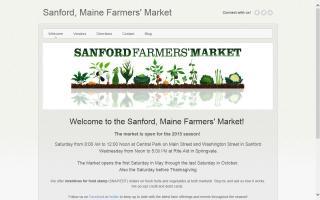 Sanford Farmers' Market - Saturday