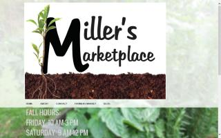 Scottville Farmers Market at Miller's Marketplace