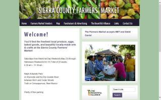 Sierra County Farmers' Market