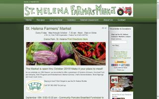 St Helena Farmers Market (Napa Valley California)