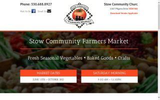 Stow Community Farmers Market
