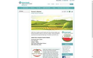 Sutter Davis Hospital Farmers Market