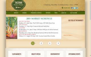 Tacoma Farmers Markets
