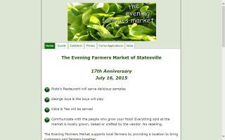 the Evening Farmers Market