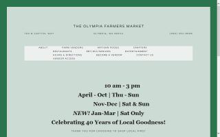 The Farmers Market of Olympia
