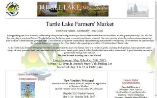 Turtle Lake Farmer's Market