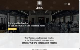 Tuscaloosa Farmers' Market at the Rivermarket at Manderson Landing