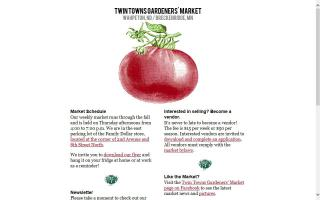 Twin Towns Gardeners' Market