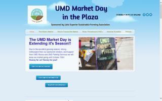 UMD Market Day in the Plaza: LSSFA Farmers Market. Art Bazaar. Live Music.