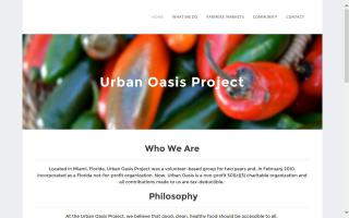 Urban Oasis Farmers Market on the Move