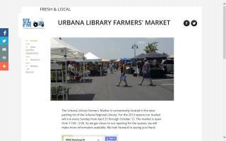 Urbana Library Farmers' Market