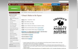 Urbana's Market at the Square