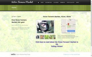 Victor Idaho Farmers Market