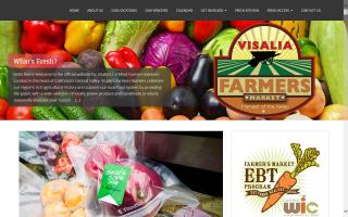 Visalia Farmers Market- TuesdayTulare Outlet Market