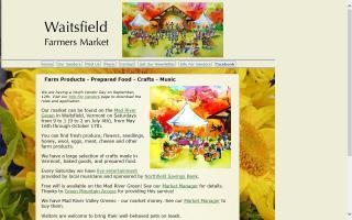 Waitsfield Farmers Market