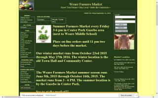 Weare Farmers Market (Summer)