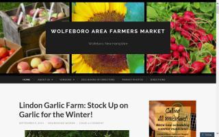 Wolfeboro Area Farmers' Market