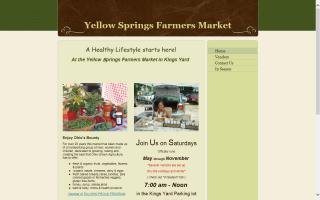 Yellow Springs Farmers' Market in King's Yard