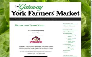 York Gateway Summer Farmers' Market