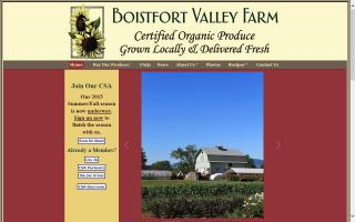 Boistfort Valley Farm