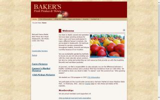 Baker's Fresh Produce & Honey