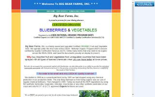 Big Bear Farms, Inc - BBFI