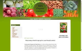 Bill's Organic Gardens