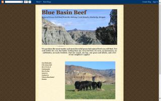Blue Basin Beef