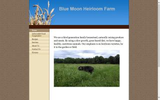 Blue Moon Heirloom Farm