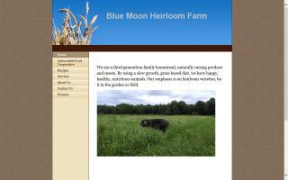 Blue Moon Heirloom Farm