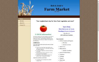 Bob & Judy's Farm Market