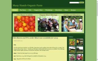 Many Hands Organic Farm