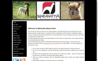 Maranatha Alpaca Farm