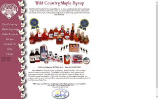 Wild Country Maple Syrup