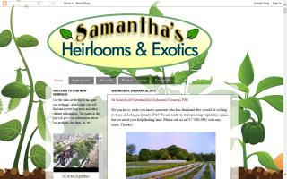 Samantha's Heirlooms and Exotics, LLC