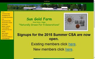 Sun Gold Farm, LLC
