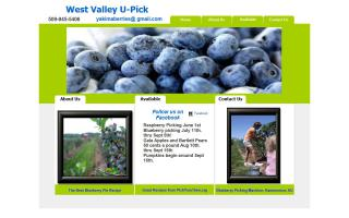 Yakima Natural U-Pick Blueberries and Fruit