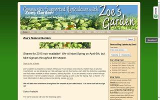 Zoe's Natural Garden