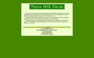 Noyo Hill Farm