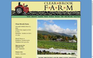 Clear Brook Farm