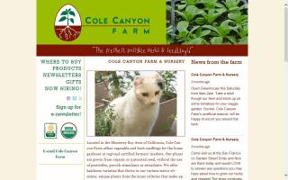 Cole Canyon Farm